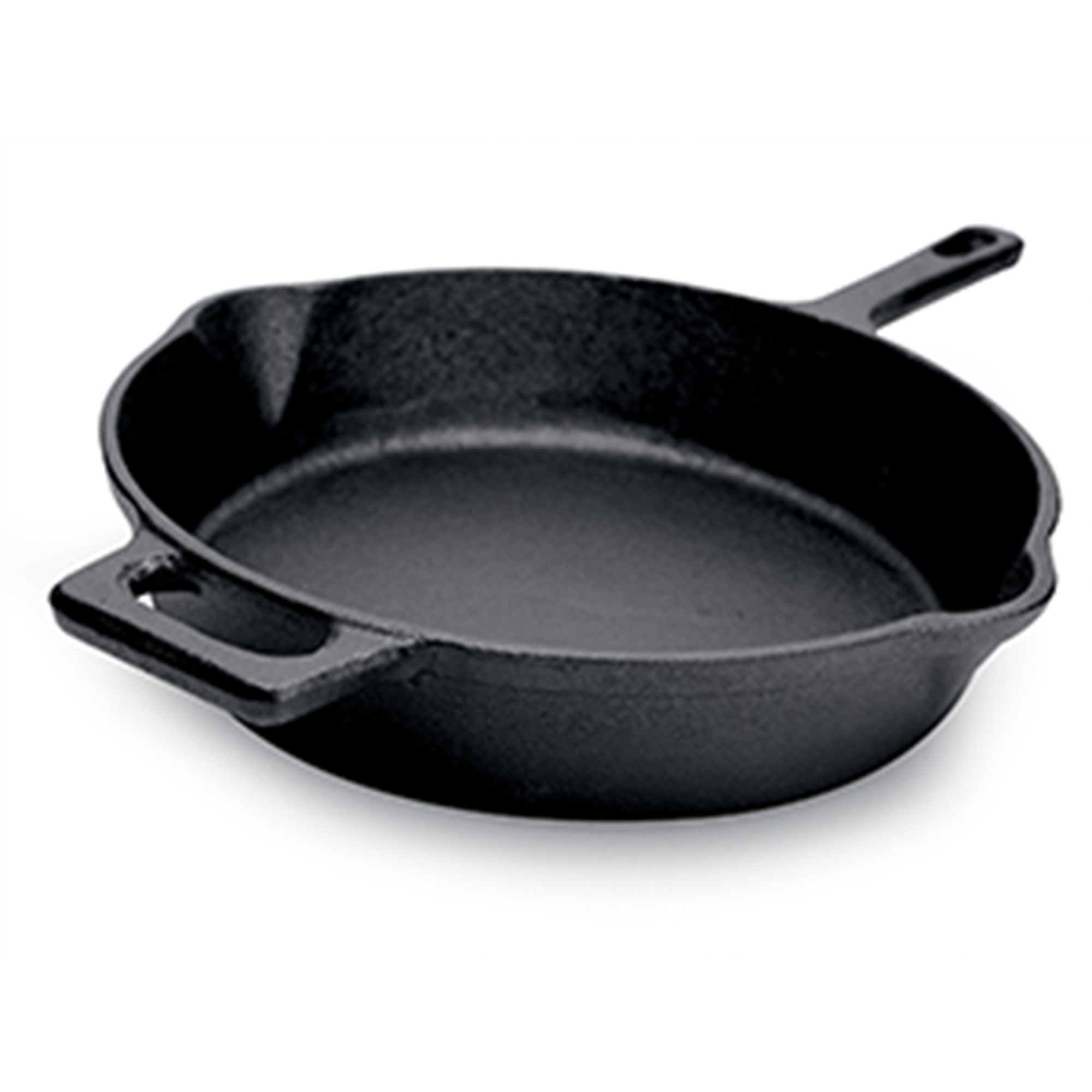 "Ecolution EOBK5124 9.5"" Farmhouse Fry Pan, Cast Iron Black"