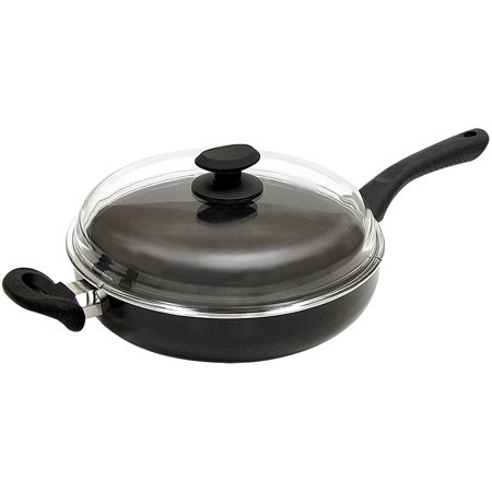 "ECOLUTION EABK-9628 BLACK ARTISTRY 11"" NONSTICK CHICKEN FRYER"