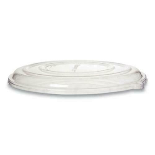 100% Recycled Content Pizza Tray Lids, 14 x 14 x 0.2, Clear, 50/Carton