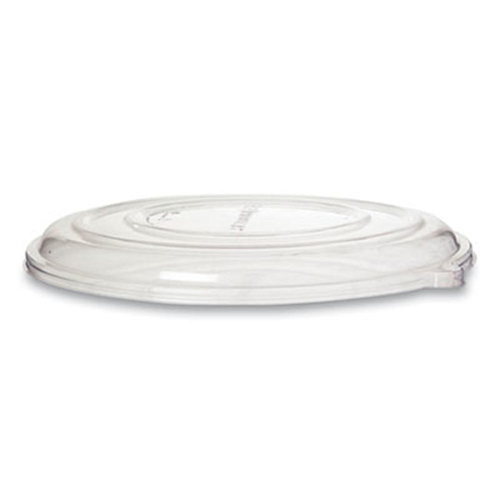 100% Recycled Content Pizza Tray Lids, 16 x 16 x 0.2, Clear, 50/Carton