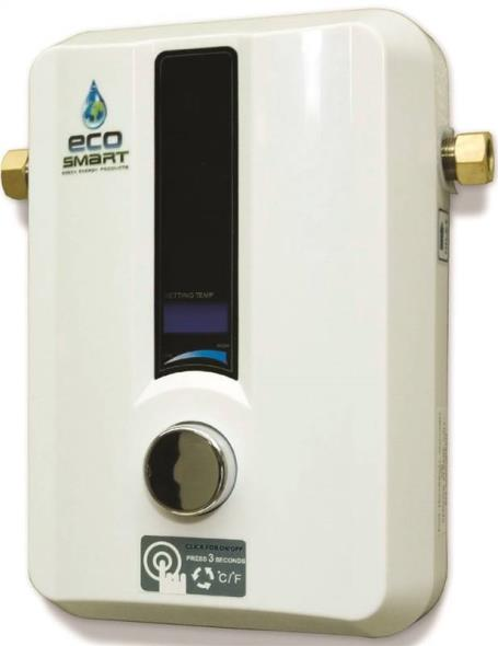 HEATER WATER ELECTRC TANKLESS 7.3KW