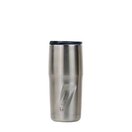EcoVessel METRO Insulated Bottle, 16oz, Silv