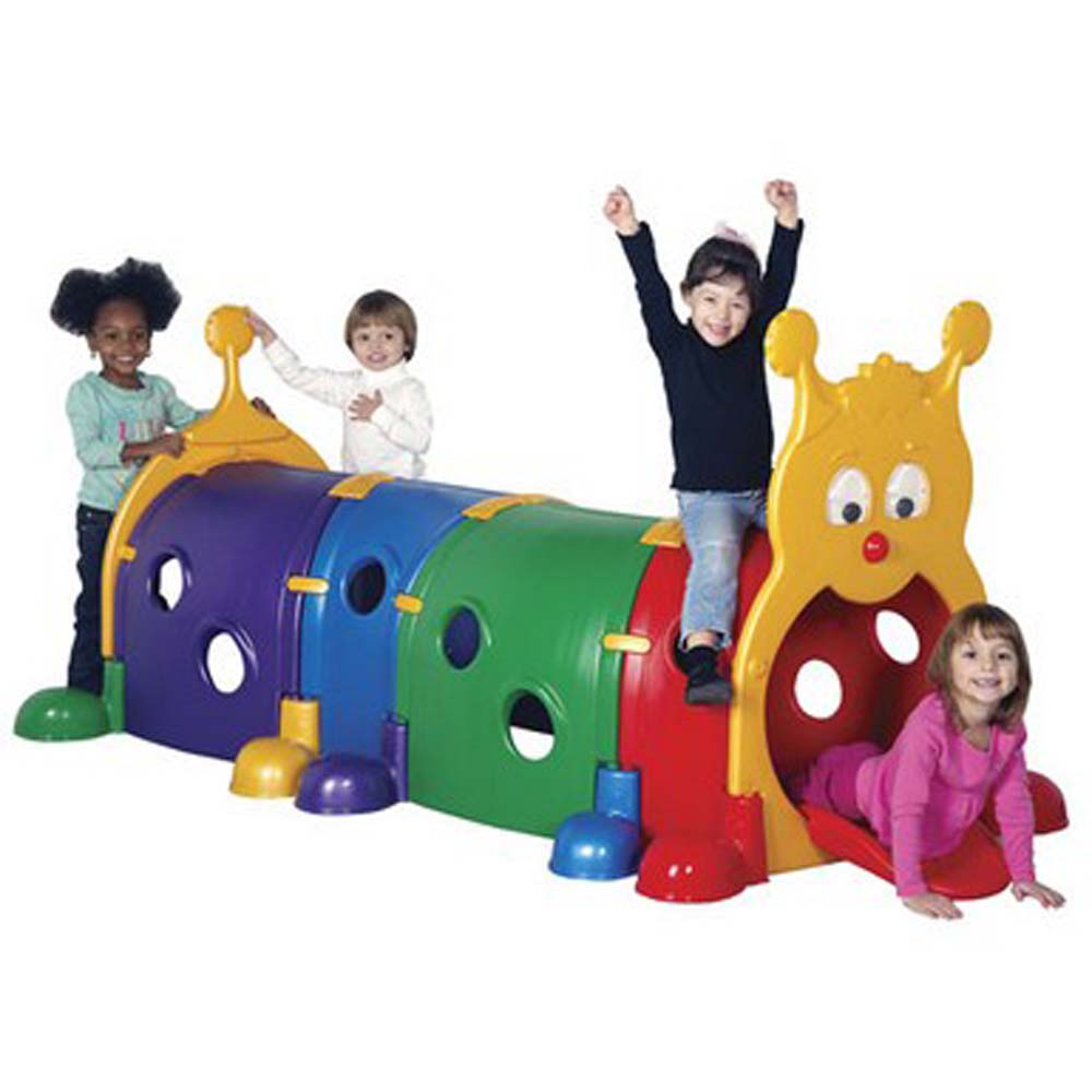 ECR4Kids Gus Climb-N-Crawl Caterpillar - 4 Section