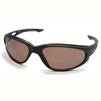 Edge Dakura TSM215 Polarized Safety Glasses, Copper Scratch Resistant Polycarbonate Lens