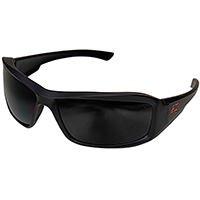 Edge Brazeau TXB236 Polarized Safety Glasses, Smoke Scratch Resistant Polycarbonate Lens