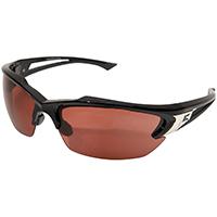 Edge Eyewear SDK115  Safety Glasses, Khor Series, Black/Copper Lens Color