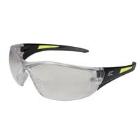 Edge Delano SD111 Non-Polarized Unisex Safety Glasses, Clear Scratch Resistant Polycarbonate Lens