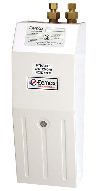 8 KW 277 V Top Mount Tankless Water Heater