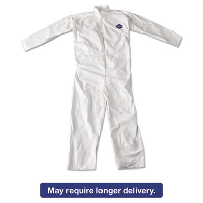 Tyvek Coveralls, White, 4X-Large, 25/Carton