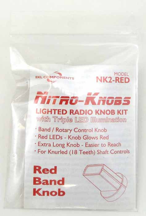 NITRO KNOB FOR BAND SWITCH (RED)