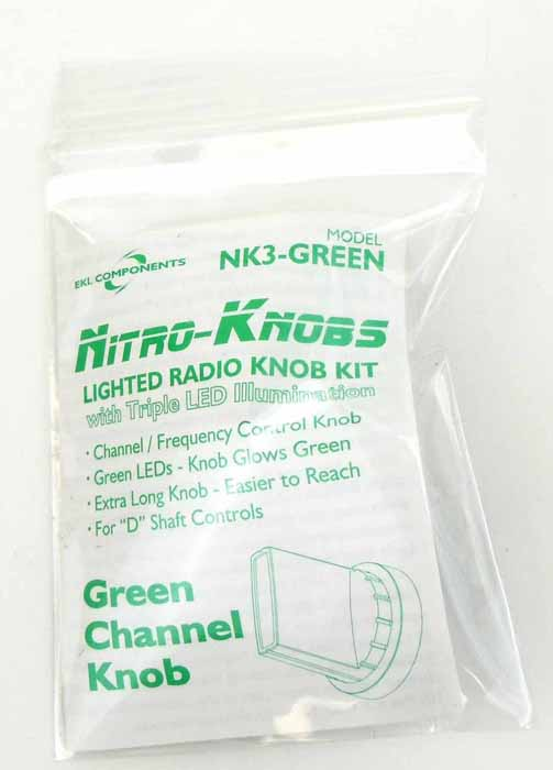NITRO KNOB FOR CHANNEL SELECTOR (GREEN)