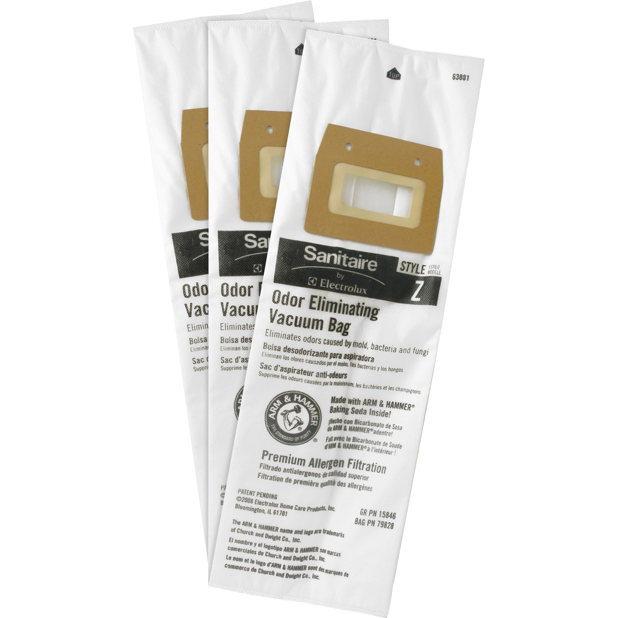 Sanitaire Style Z Vacuum Bag, 5/Pack