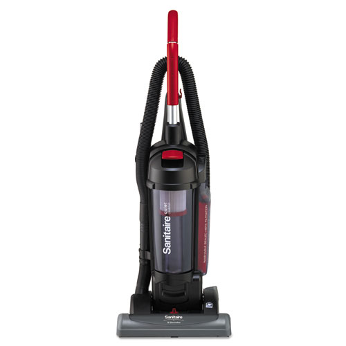 Bagless/Cyclonic Vacuum with Sealed HEPA Filtration, Red