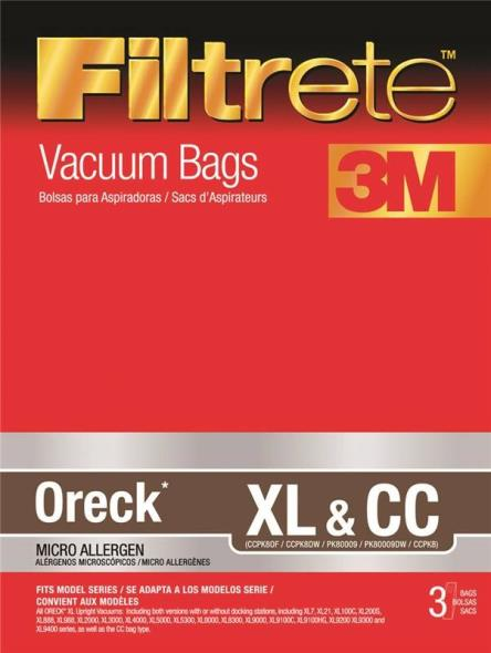 BAG VACUUM CLEANER TYPE XL/CC