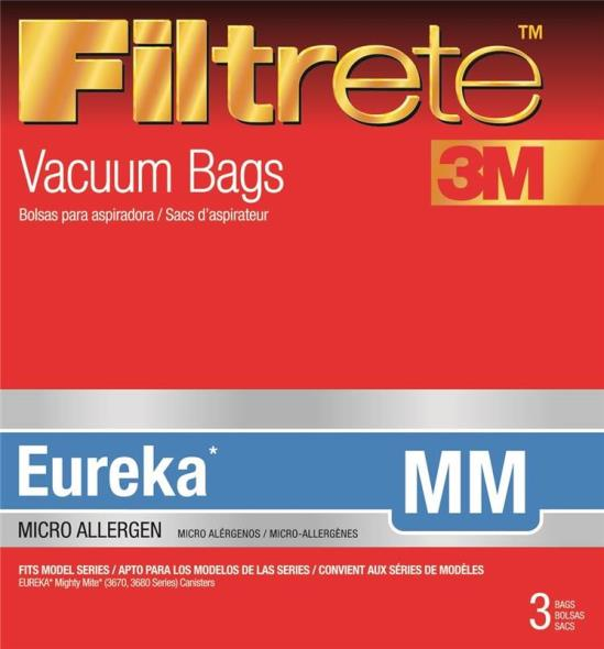 Filtrete 67703A-6 Micro Allergen Type MM Vacuum Cleaner Bag