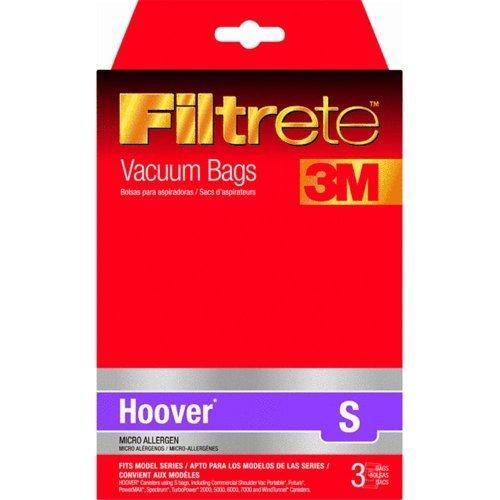 Filtrete 64705A-6 Type S Vacuum Cleaner Bag