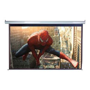 "Spectrum Series Electric Projection Screens (120""; 72""H X 96""W; 4:3 Format)"