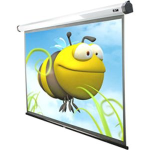 "Spectrum Series Electric Projection Screens (125""; 61.3"" X 109""W; 16:9 HDTV Format)"