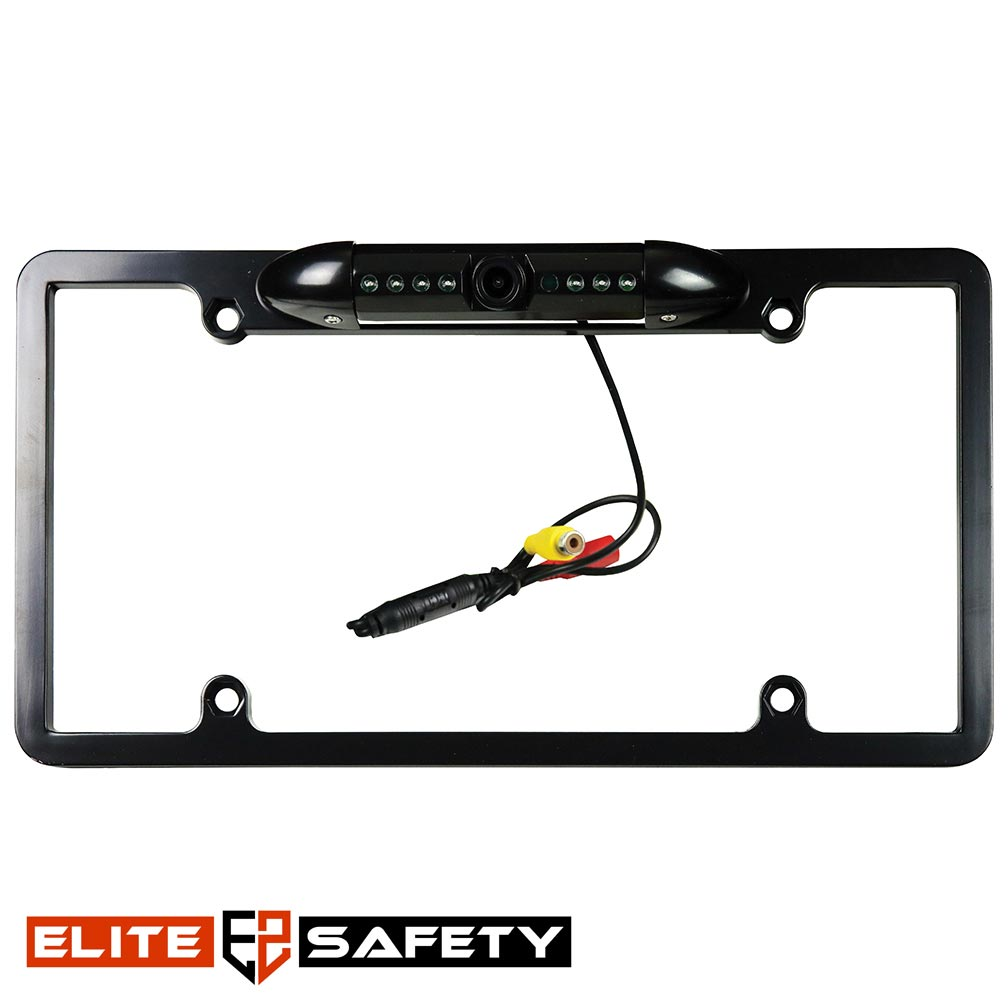 Elite Safety Pro Series Dynamic Full Frame License Plate Camera Black