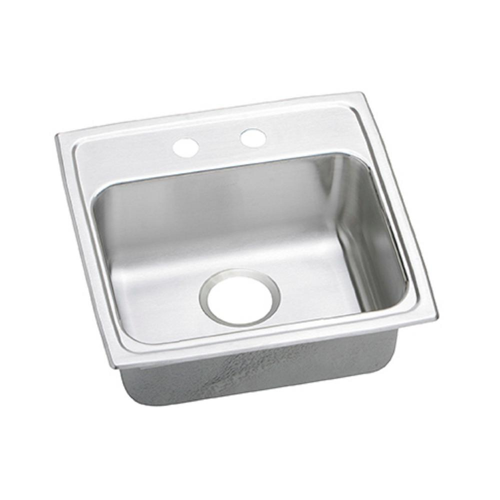 19X18X5-1/2 2 Hole Single Band ADA Stainless Steel SINK