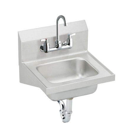 Lead Law Compliant 17 X 16 Stainless Steel Hand Wash SINK Compression