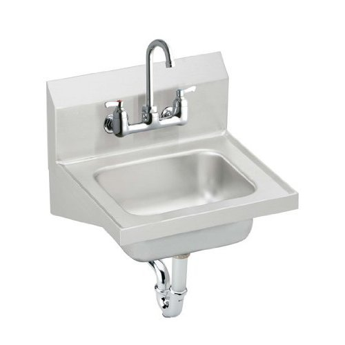 Altavista 2-Handle 4 Center Set Lavatory Faucet, Stainless Steel