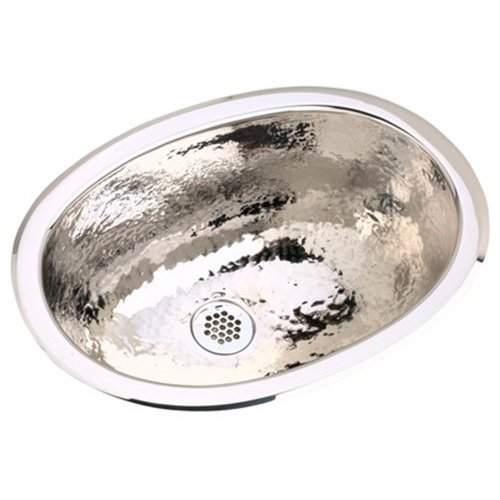 16X11 Single Band Universal Mount OVAL Stainless Steel SINK