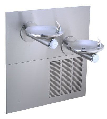 Lead Law Compliant 2 Level Drinking Fountain With Chiller & Mounting F