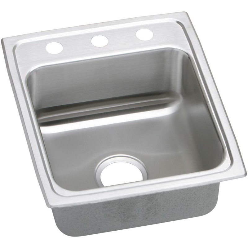 17X20X5-1/2 2 Hole Single Band ADA Stainless Steel SINK