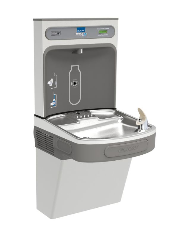 Lead Law Compliant 8 GPH EZH2O Cooler L/ Filter Stainless Steel