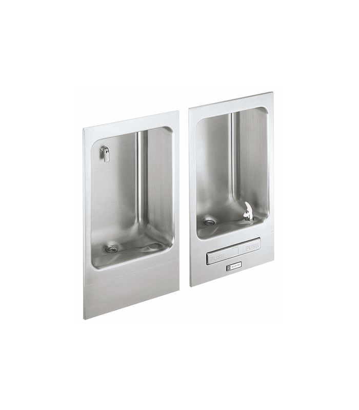 Lead Law Compliant Recessed P/BAR Drinking Fountain Stainless Steel ADA