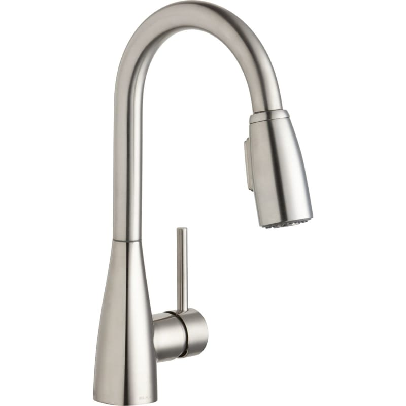 California Energy Commission Registered 1.5 Gallons Per Minute Single Lever Pull Down Spray Bar Faucet