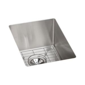 12 X 17 Single Band Stainless Steel Undermont Kitchen SINK GRID & Drain