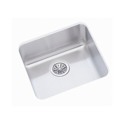 18-1/2X18-1/2 Single Band Undercounter SINK *GOURME Stainless Steel
