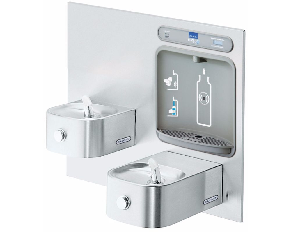 Lead Law Compliant Filtered Bottle Filling STN With Fountain