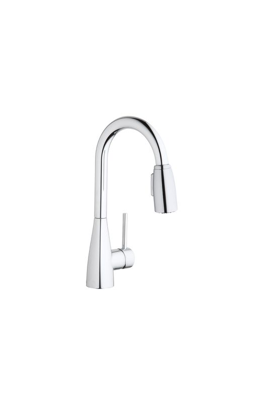 California Energy Commission Registered Lead Law Compliant 1.5 Single Lever Pull Down Bar Faucet Polished Chrome