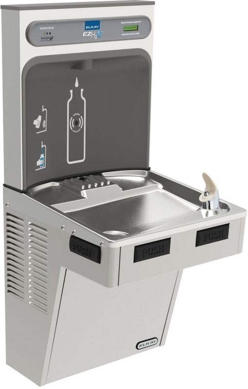 Lead Law Compliant EZH2O Cooler Stainless Steel