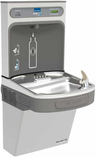 Lead Law Compliant EZH2O Cooler EZ GRN Stainless Steel