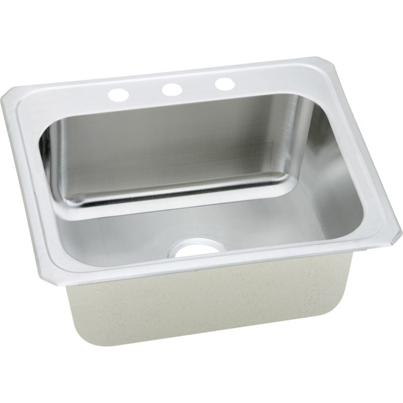 5X22X12.25 Stainless Steel TM LDRY/UTIL SINK Kit