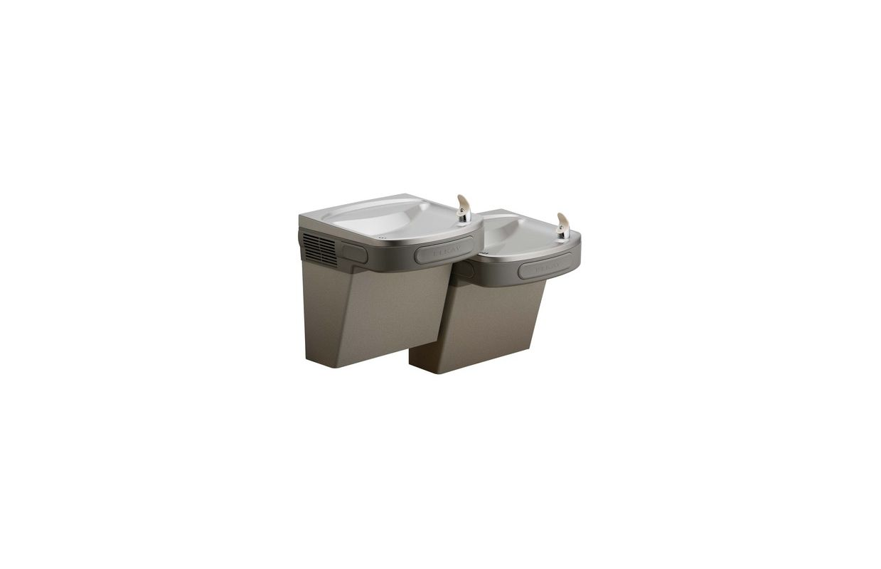 Lead Law Compliant FILTERED Wall Mount Bi Level ADA Cooler Stainless Steel