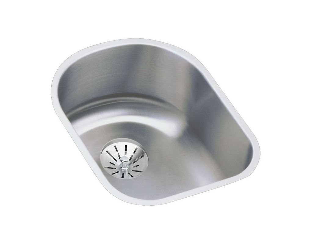 14 X 18 0 Hole Single Band Stainless Steel Undermont Kitchen SINK LHSA