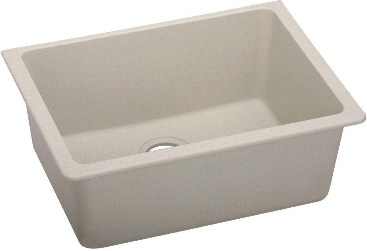"QUARTZ Classic 25 x 18-1/2"" x 9-1/2 Single Bowl Undermount Sink  Putty"