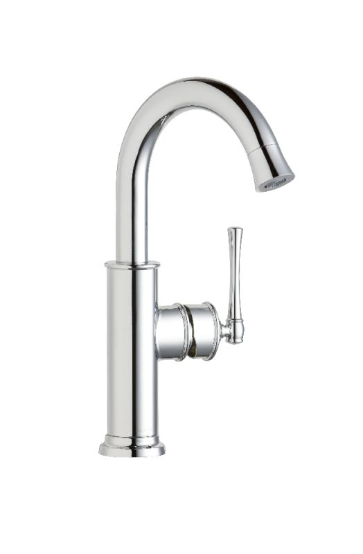 California Energy Commission Not Registered Lead Law Compliant Single Lever Bar Faucet Polished Chrome 1.5 Gallons Per Minute