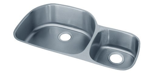 36 X 21 Double Bowl Undercounter RH Kitchen SINK Lustertone Stainless Steel