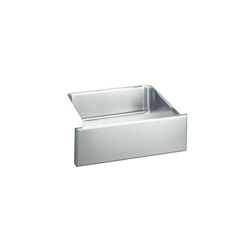 25 X 20 Single Band Undercounter Stainless Steel SINK With Apron Lustertone