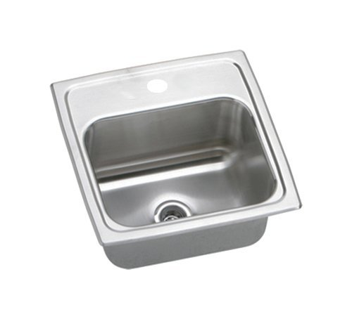 15 X 15 One Hole Stainless Steel Bar Sink Pacemaker