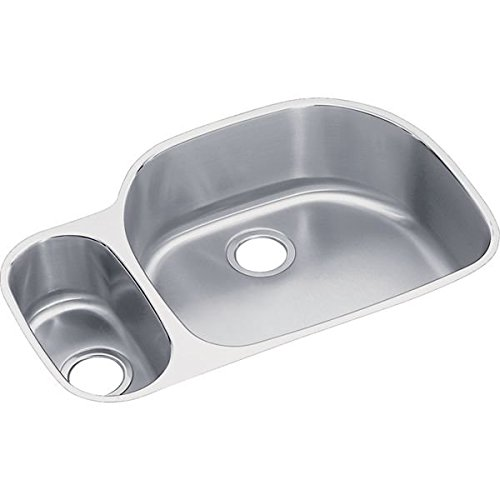 33 X 22 Double Bowl Undercounter Sink Lustertone Stainless Steel