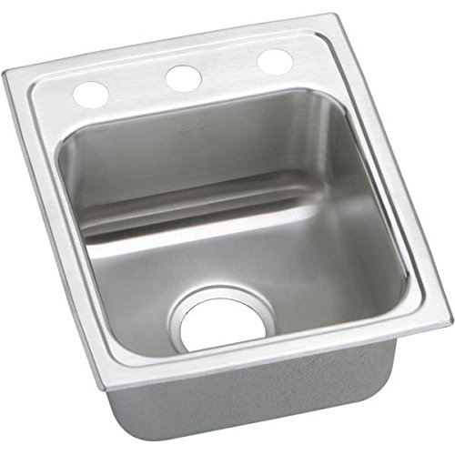 Lustertone Stainless Steel Deep Single Bowl Sink