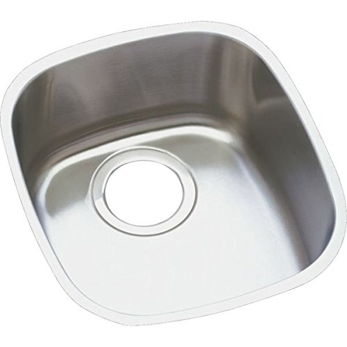 13 X 15 0 Hole Undercounter Stainless Steel Sink Lustertone