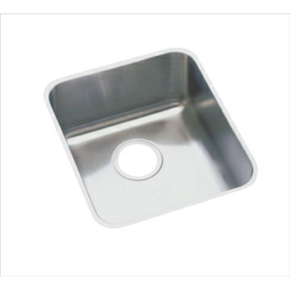 13 X 16 Single Band Undercounter Stainless Steel SINK Lustertone
